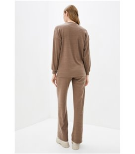 Пуловер HALSA GOLF MEN navy melange/orange разм. XXL